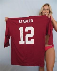 Ken Stabler autographed Alabama Crimson Tide replica jersey