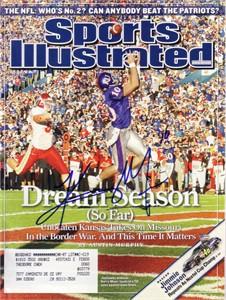 Kerry Meier autographed Kansas Jayhawks 2007 Sports Illustrated