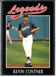 Kevin Costner 1991 Legends card