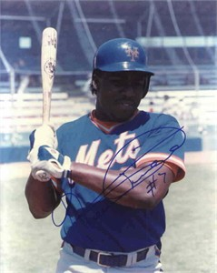 Kevin Mitchell autographed 8x10 New York Mets photo