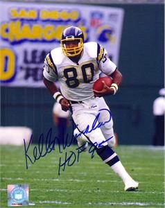 Kellen Winslow autographed San Diego Chargers 11x14 photo