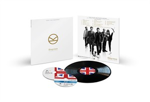 Kingsman 2017 Comic-Con exclusive vinyl soundtrack Blu-ray DVD limited edition package