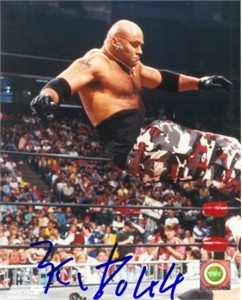 Konnan (WCW) autographed 8x10 wrestling photo