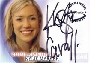 Kristin Cavallari certified autograph Veronica Mars card