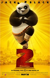 Kung Fu Panda 2 mini movie poster (Jack Black)