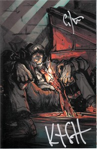 Kurt Sutter & Caitlin Kittredge autographed Lucas Stand 2016 Comic-Con exclusive comic book