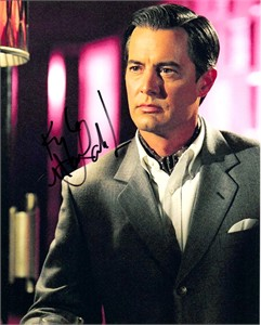 Kyle MacLachlan autographed Touch of Pink 8x10 photo