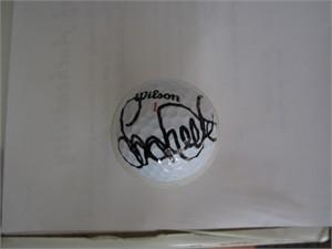 Laura Davies autographed Wilson golf ball