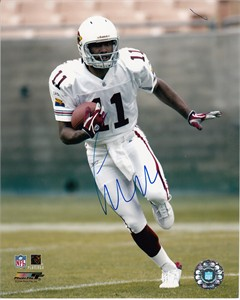 Larry Fitzgerald autographed Arizona Cardinals 8x10 photo