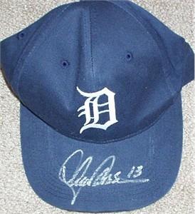 Lance Parrish autographed Detroit Tigers cap or hat