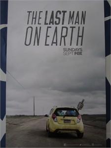 Last Man On Earth 2015 San Diego Comic-Con mini 11x17 FOX promo poster (Will Forte)