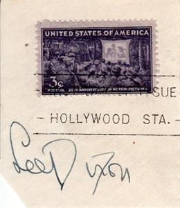 Lee Dixon autograph or cut signature