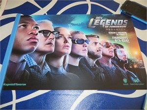 Legends of Tomorrow cast 2016 Comic-Con exclusive 11x17 poster