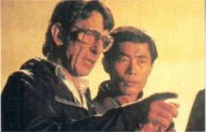Leonard Nimoy & George Takei 1980s Star Trek card