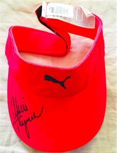 Alexis (Lexi) Thompson autographed Puma golf visor