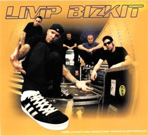 Limp Bizkit decal or sticker and embroidered patch