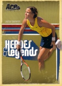 Lindsay Davenport 2006 Ace Authentic card