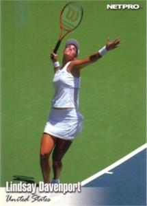 Lindsay Davenport 2003 Netpro card