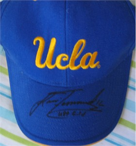 Lisa Fernandez autographed UCLA Bruins cap or hat
