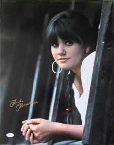 Linda Ronstadt autographed 16x20 poster size portrait photo matted & framed (JSA)