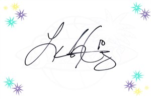 Lindsey Harding autographed WNBA Los Angeles Sparks logo card