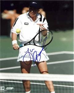Lisa Raymond autographed tennis 8x10 photo