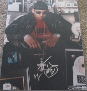 LL Cool J autographed 16x20 poster size photo