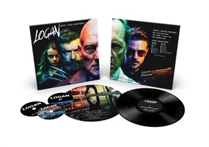 Logan 2017 Comic-Con exclusive vinyl soundtrack Blu-ray DVD limited edition package