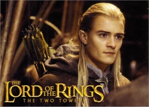 Lord of the Rings The Two Towers movie 2003 promo postcard (Legolas)