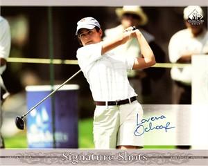 Lorena Ochoa certified autograph 2005 SP Signature 8x10 photo card