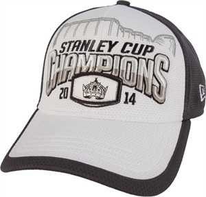 Los Angeles Kings 2014 Stanley Cup Champions New Era locker room cap or hat