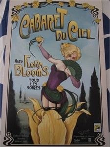 Lost Girl Cabaret du Ciel 2015 Comic-Con exclusive mini promo poster (numbered out of 2000)