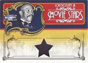 Lou Gossett Jr. worn clothing swatch Donruss Americana card #44/50
