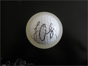 Louis Oosthuizen autographed golf ball