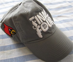 Louisville Cardinals 2012 NCAA Final Four Nike cap or hat