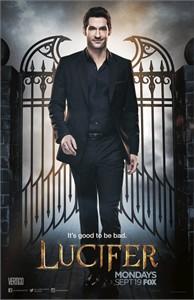 Lucifer 2016 Comic-Con 11x17 Fox promo poster (Tom Ellis)