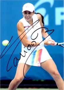 Marion Bartoli autographed 5x7 tennis photo