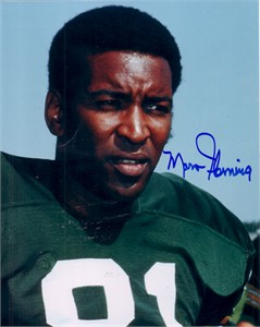 Marv Fleming autographed 8x10 Green Bay Packers photo