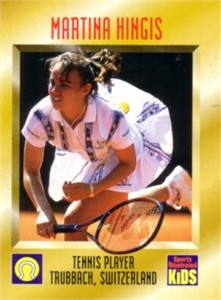 Martina Hingis 1996 Sports Illustrated for Kids Rookie Card