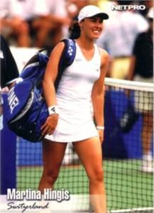 Martina Hingis 2003 Netpro card #12