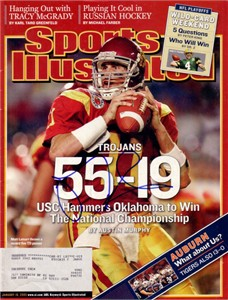 Matt Leinart autographed USC Trojans 2004 National Championship Sports Illustrated