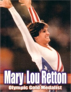Mary Lou Retton 2004 4x5 inch promo card