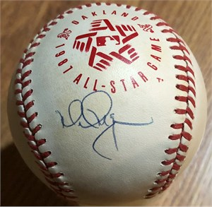 Mark McGwire autographed 1987 All-Star Game baseball