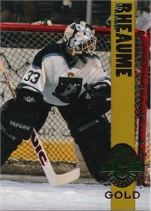Manon Rheaume 1993 Classic 4-Sport Gold card (1 of 3900)
