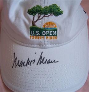 Mark O'Meara autographed 2008 U.S. Open golf cap