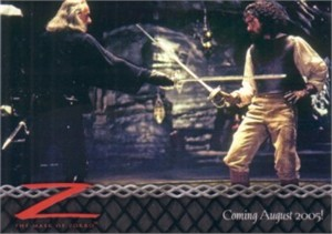 Mask of Zorro 2005 ArtBox promo card 02