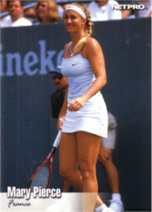 Mary Pierce 2003 Netpro card