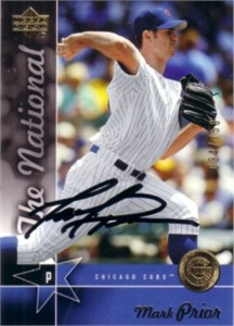 Mark Prior autographed Chicago Cubs 2005 Upper Deck National Convention card