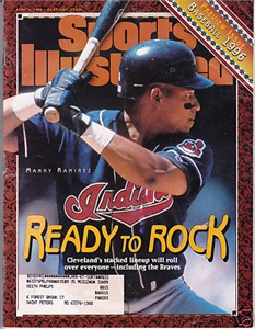 Manny Ramirez Cleveland Indians 1996 Sports Illustrated