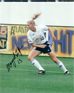 Margaret Tietjen autographed WUSA San Diego Spirit 8x10 photo